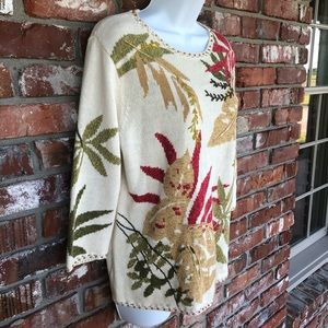 Susan Bristol pull over sweater size Medium